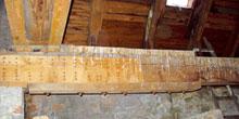 Rekonstrukce dřevěných prvků protézováním, příložkováním a ukotvením do ocelových konzol