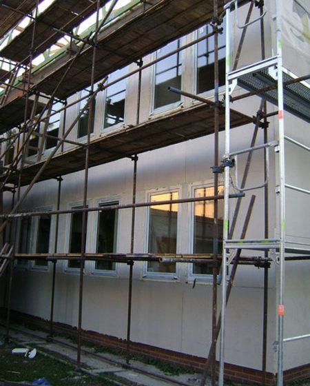 Rekonstrukce fasády zdravotního střediska ve Starém Městě