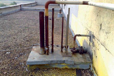 Rekonstrukce hydroizolace střech objektů společnosti Synthesia