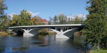 Rekonstrukce mostu přes Ohři v Libochovicích