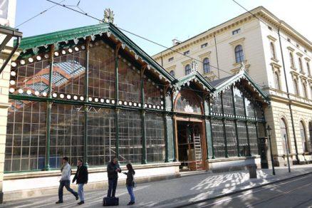 Rekonstrukce odjezdové haly Masarykova nádraží v Praze