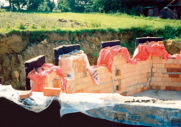 Řešení poruch hydroizolace spodní stavby rodinnýchdomů