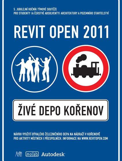 REVIT OPEN 2011 – renovace bývalého depa na nádraží v Kořenově