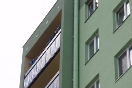 Revitalizace panelových domů Hrušovany u Brna