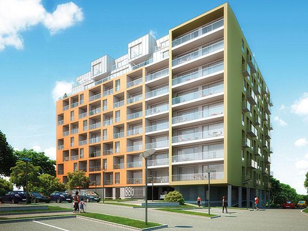 Rezidence Erasmus - koleje nebo luxusní byty?