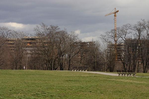 Rezidenční komplex Central Park Praha finišuje s první fází