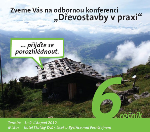 Rigips zve na konferenci Dřevostavby v praxi 6