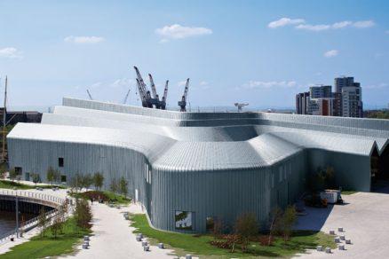 Riverside Museum od Zahy Hadid