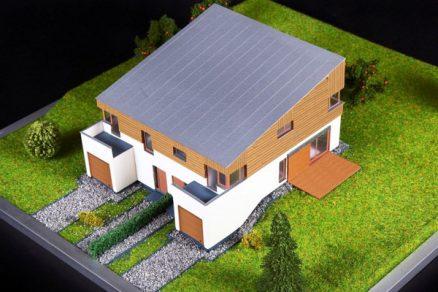 Rodinné domy s materiálmi FERMACELL