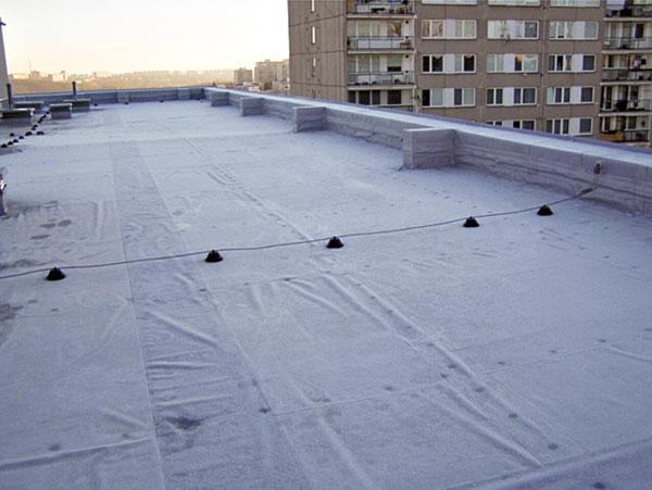 Sanace střešních plášťů