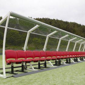 Skleněné zastřešení laviček pro hráče poháru FIFA 2013 dodá AGC