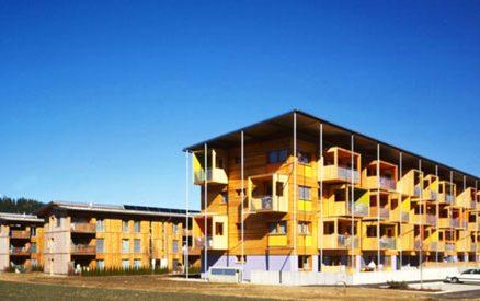 Sociální bydlení v rakouském Judenburgu