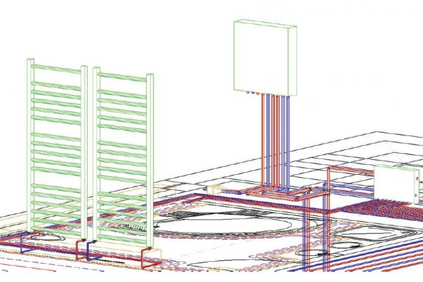 Software na návrh a zpracování projektů ústředního vytápění