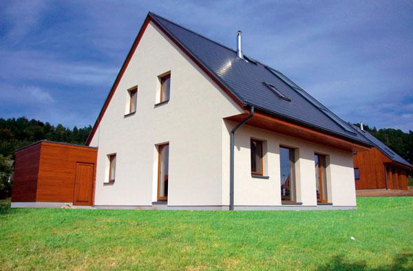 Soubor 13 energeticky pasivních domů vKoberovech