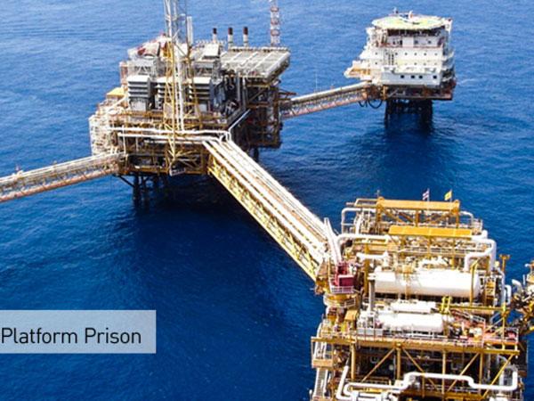 Soutěž – vězení na ropné plošině