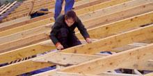 Spojování dřevěných prvků krovu
