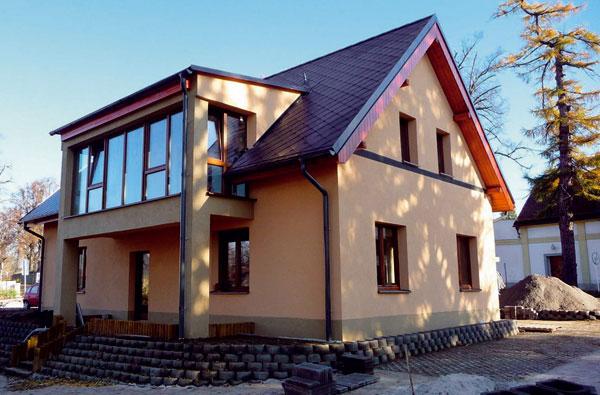 Stavební systém svyužitím druhotných surovin