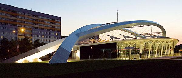 Steel Design Award pro stanici metra Střížkov