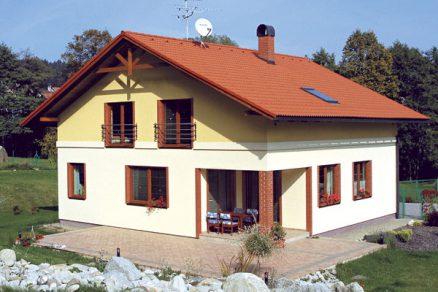 Střecha z pórobetonu