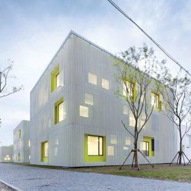 Středisko mládeže v Šanghaji jako protiklad k unifikované architektuře