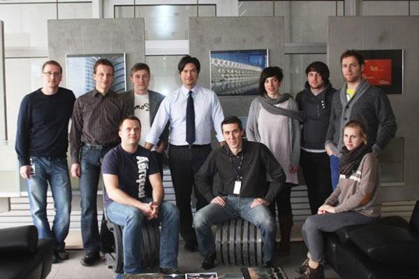 Studenti architektury navštívili výzkumné centrum ve Švýcarsku