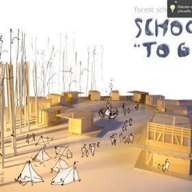 Studenti architektury soutěžili o nejlepší návrh lesní školky