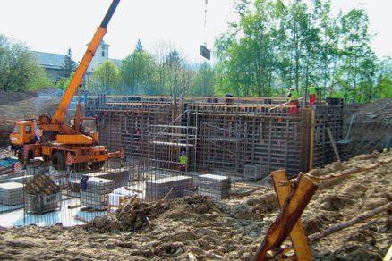 Systém bednění monolitických železobetonových stěn