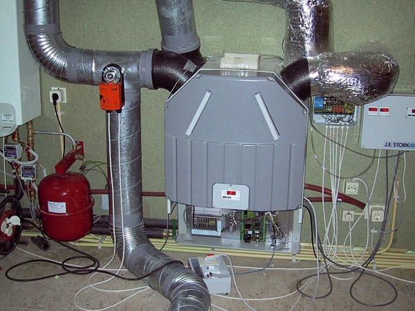 Systémy větrání budov ateplovzdušné vytápění