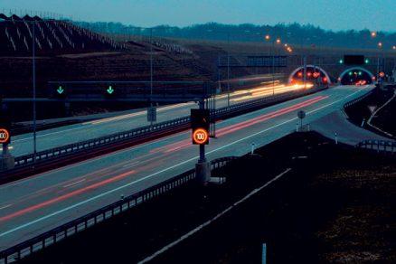 Technologické vybavení tunelů na Pražském okruhu