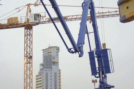 Technologie betonáže výškových budov