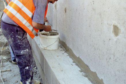 Technologie bílých van svyužitím krystalizačních přísad
