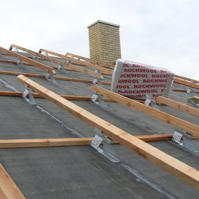 Tepelná izolace z kamenné vlny pro nízkoenergetické a pasivní domy