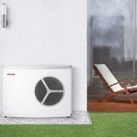Tepelné čerpadlo vzduch/voda WPL 10 AC – špičkový výkon pro malé prostory
