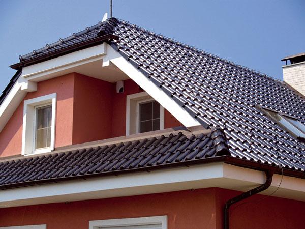Těžké krytiny pro šikmé střechy