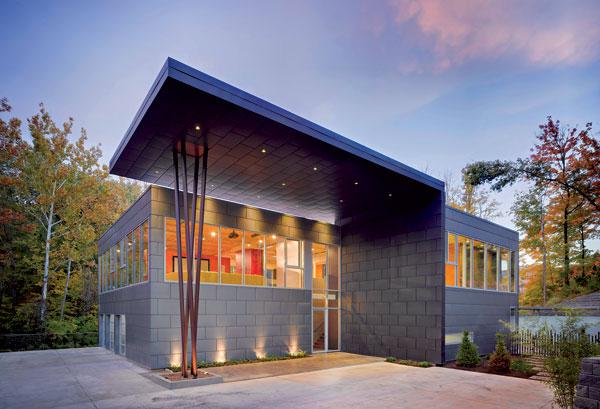 Titanzinkový plech je moderním řešením pro fasády