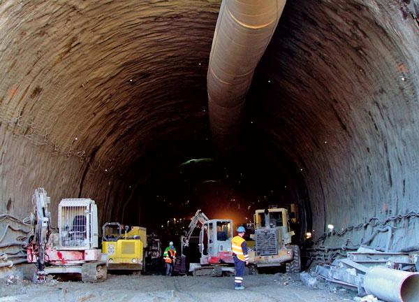 Tunel jako součást moderní infrastruktury