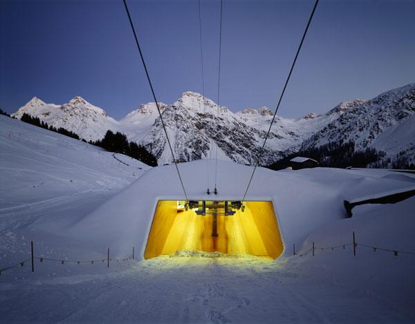 Udržitelná švýcarská architektura vpražské galerii