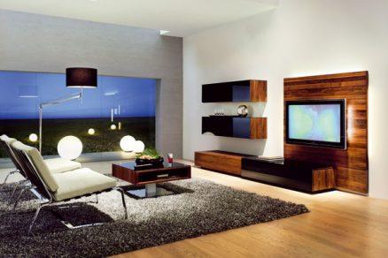 Úložné prostory vobývacím pokoji