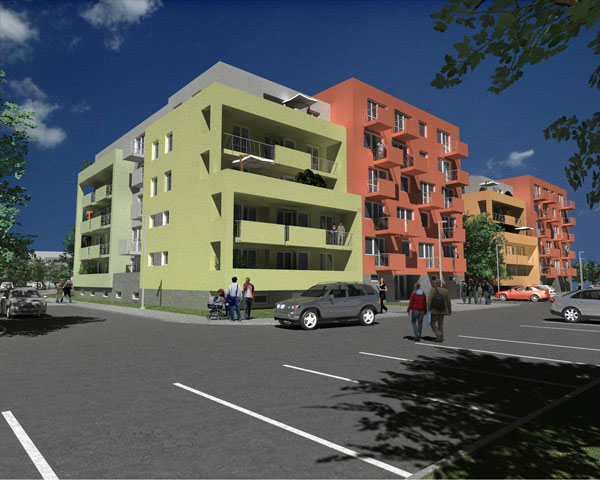 V rezidenci Park Třebeš bylo ještě před zahájením výstavby prodáno 30% bytů