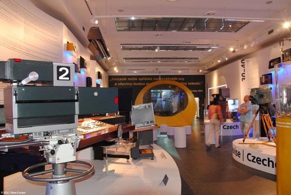 V útrobách televizoru - výstava k 60ti letům televizního vysílání