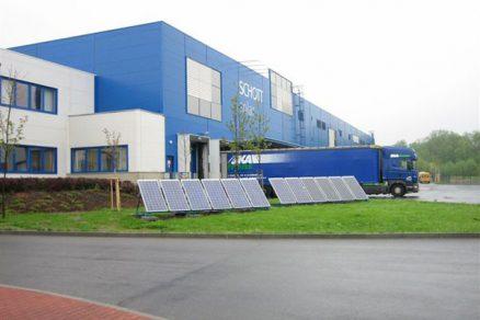 Ve Valmezu se vyrábějí solární panely pro celou Evropu