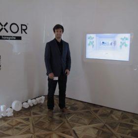 Vítězové Axor H2O story tváří v tvář světovým designérům