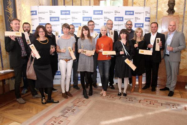 Vítězové Cen šéfredaktorů Designbloku 2012