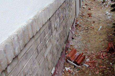 Využití drenáží při sanaci vlhkých staveb