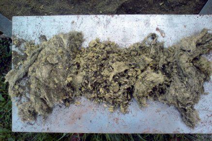 Využití odpadu z výroby kamenné vlny