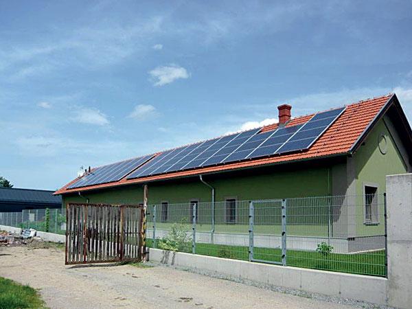 Využití přebytků z fotovoltaické elektrárny