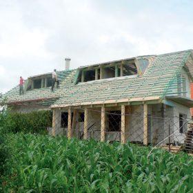 Využití solární energie formou energetické střechy