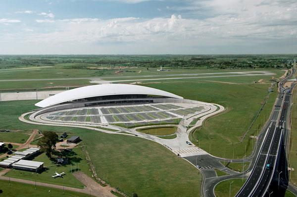Vznášející se letištní terminál od Rafaela Viñoly