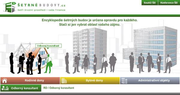 Webová encyklopedie Šetrné budovy