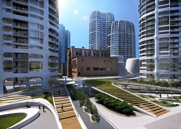 Zaha Hadid vyhrala medzinárodnú architektonickú súťaž pre developerský projekt v Bratislave